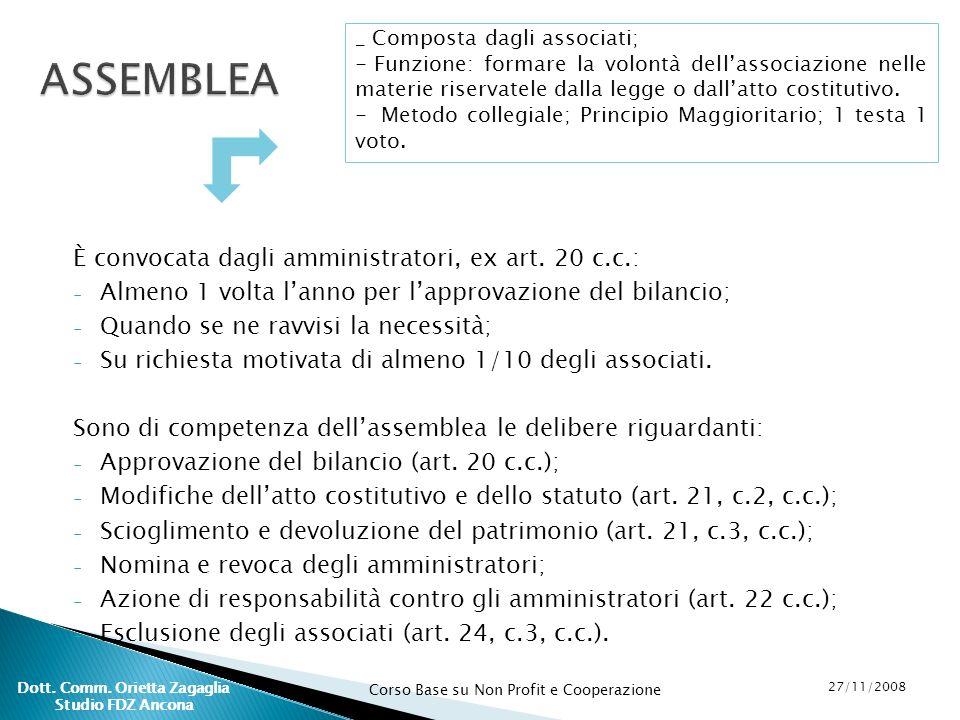 Dott. Comm. Orietta Zagaglia Studio FDZ Ancona
