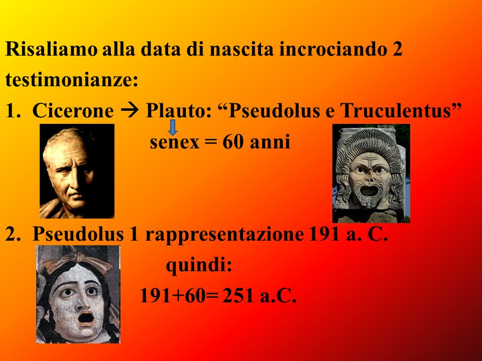 Risaliamo alla data di nascita incrociando 2