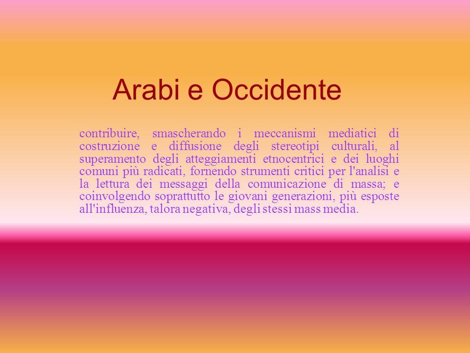 Arabi e Occidente