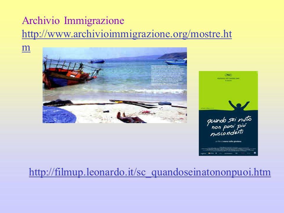 Archivio Immigrazione