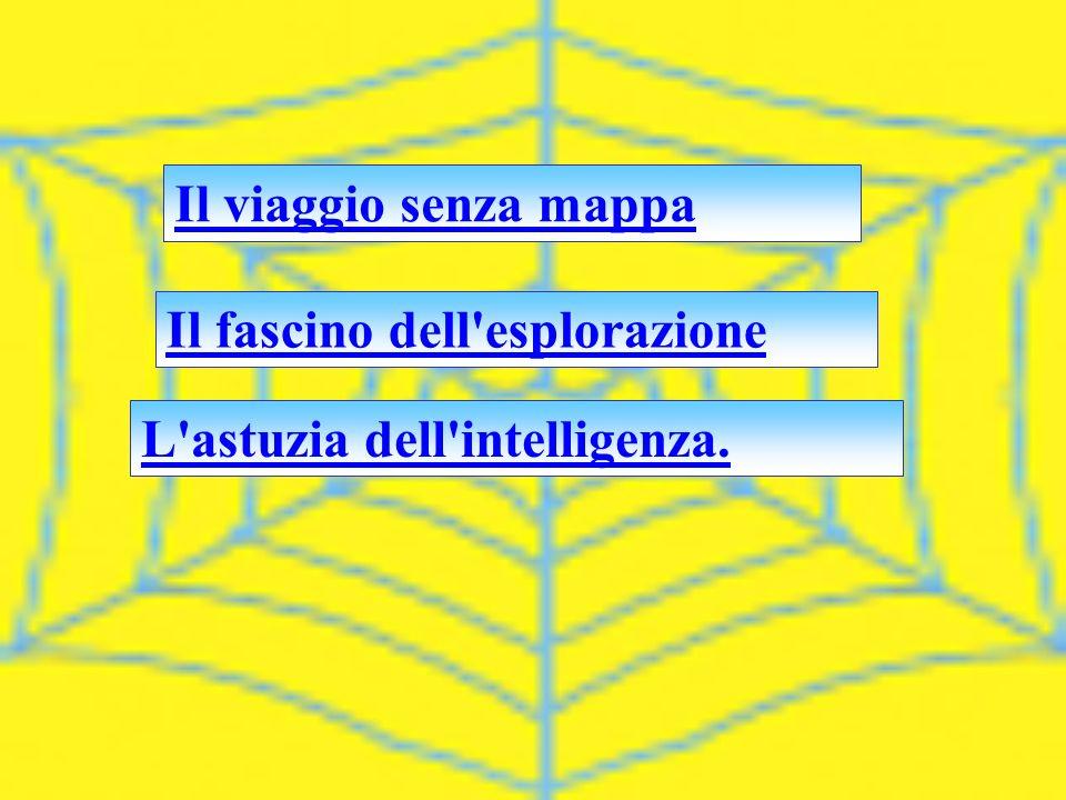 Il viaggio senza mappa Il fascino dell esplorazione L astuzia dell intelligenza.