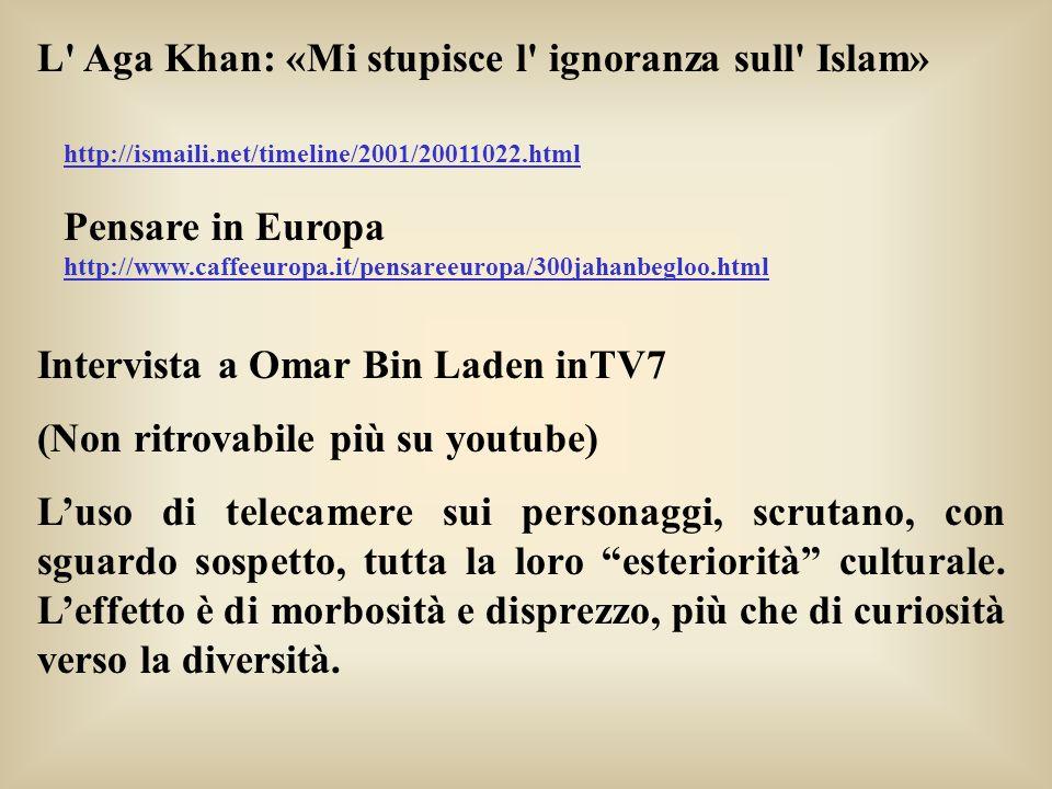 L Aga Khan: «Mi stupisce l ignoranza sull Islam»