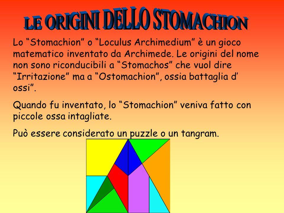 LE ORIGINI DELLO STOMACHION