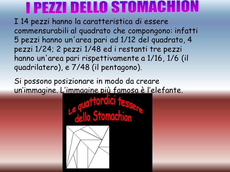 I PEZZI DELLO STOMACHION