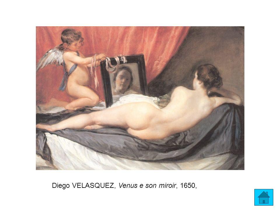 Diego VELASQUEZ, Venus e son miroir, 1650,
