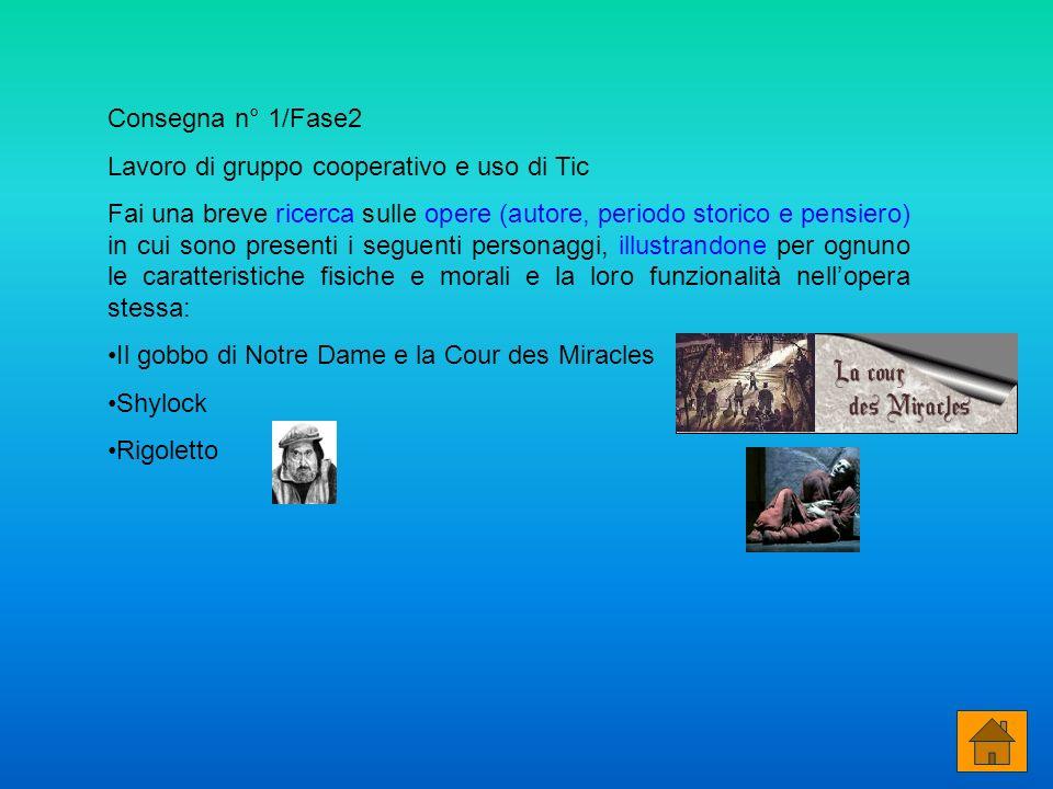 Consegna n° 1/Fase2 Lavoro di gruppo cooperativo e uso di Tic.