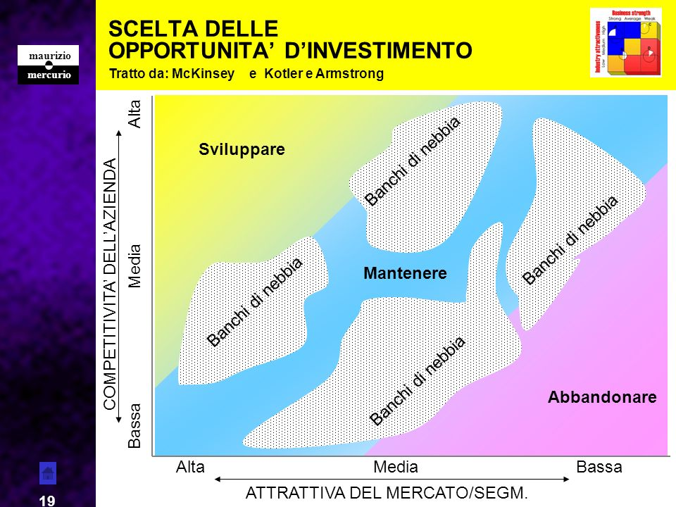 SCELTA DELLE OPPORTUNITA' D'INVESTIMENTO