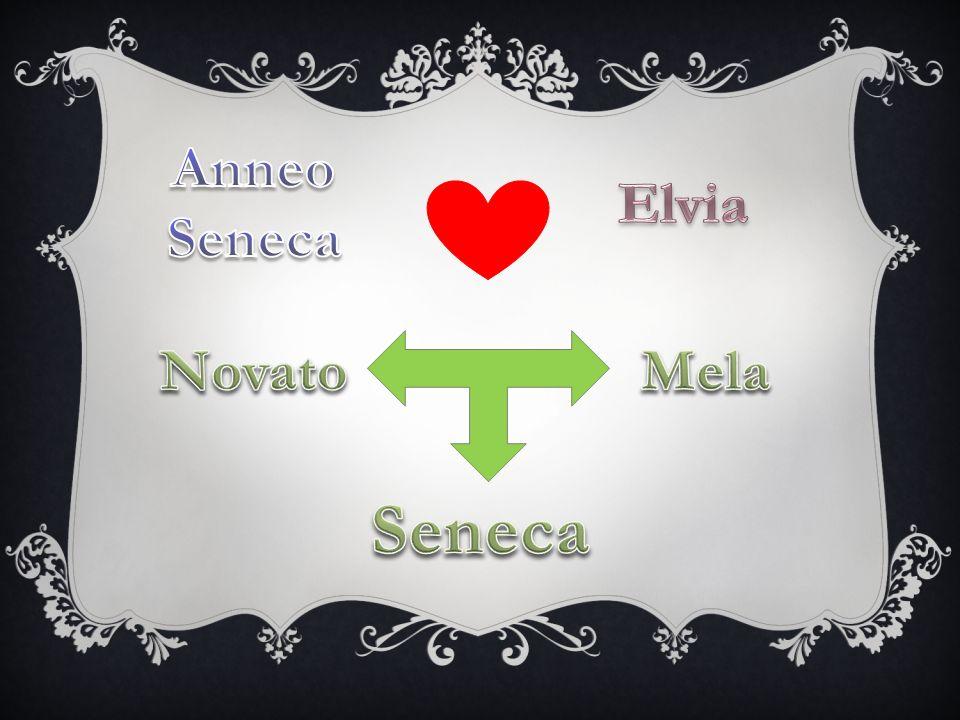 Anneo Seneca Elvia Novato Mela Seneca