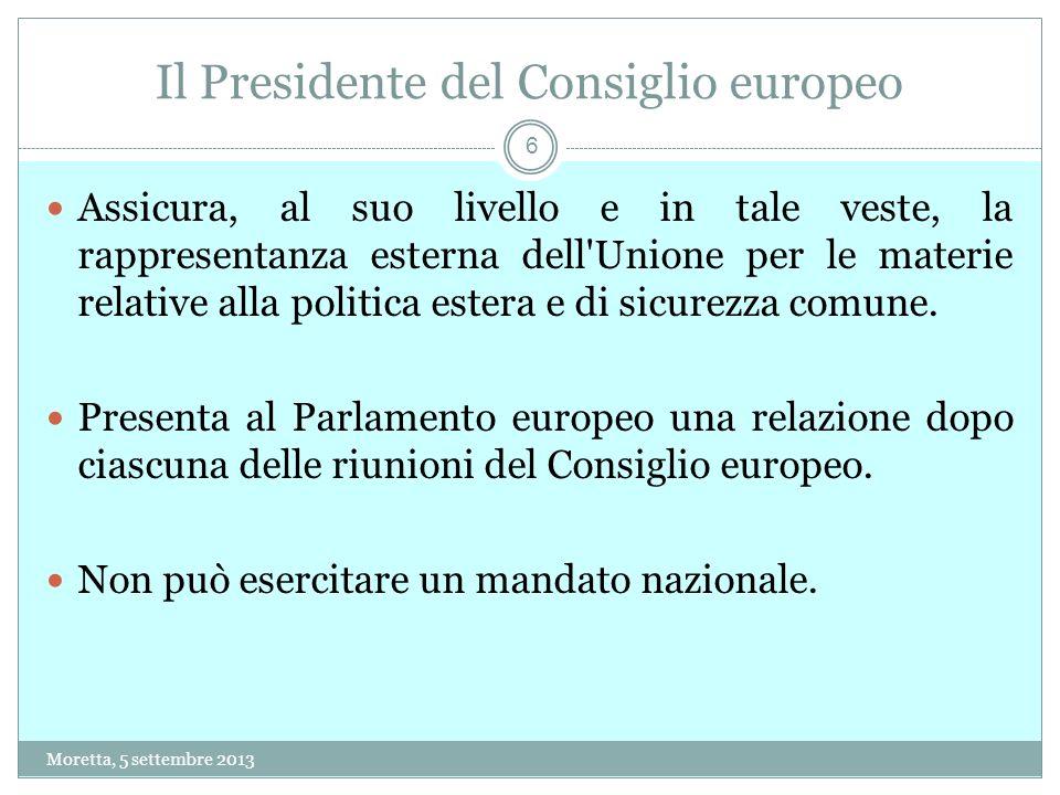 Il Presidente del Consiglio europeo