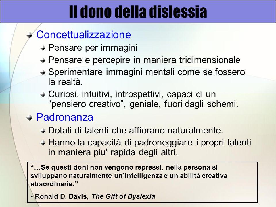 Il dono della dislessia