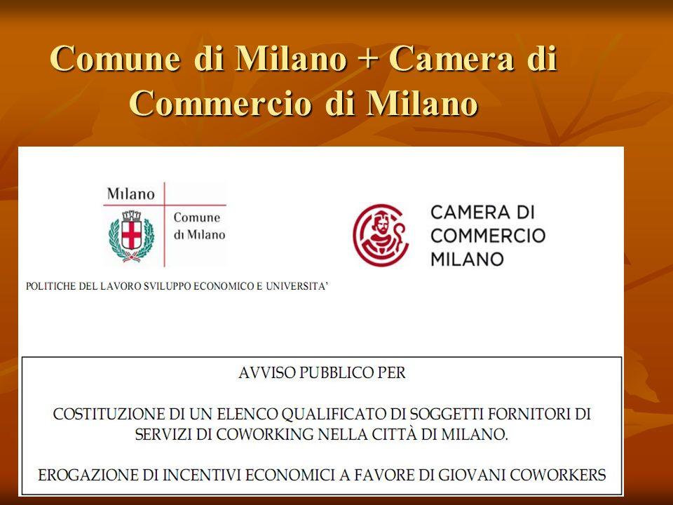 Comune di Milano + Camera di Commercio di Milano