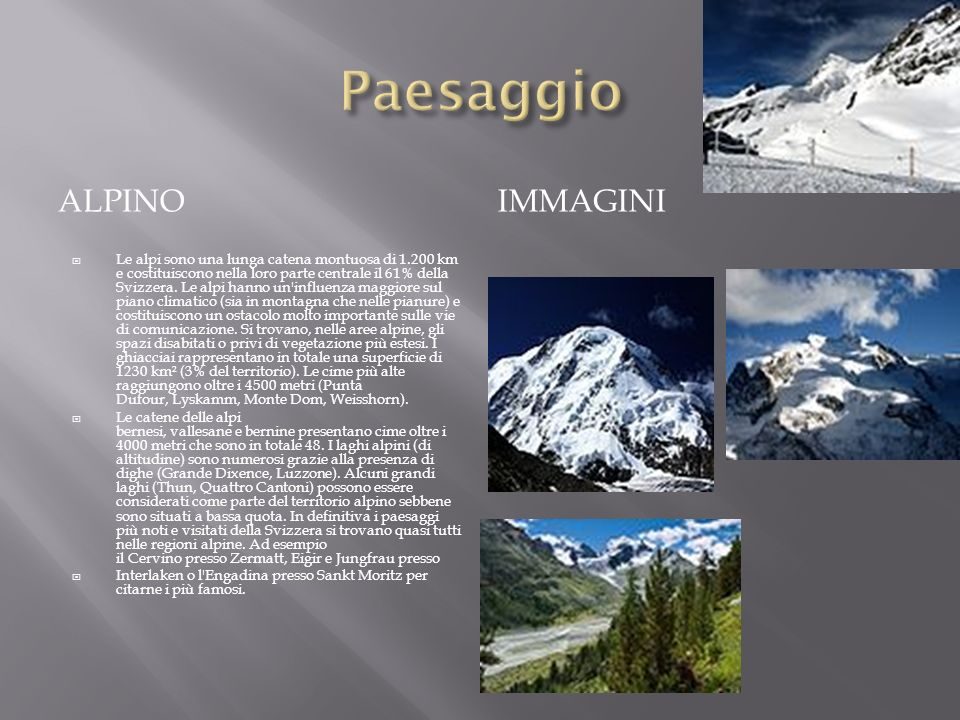 Paesaggio Alpino Immagini