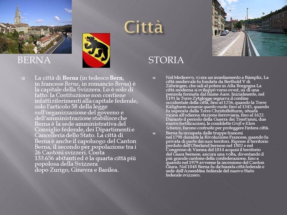 Città Berna. storia.