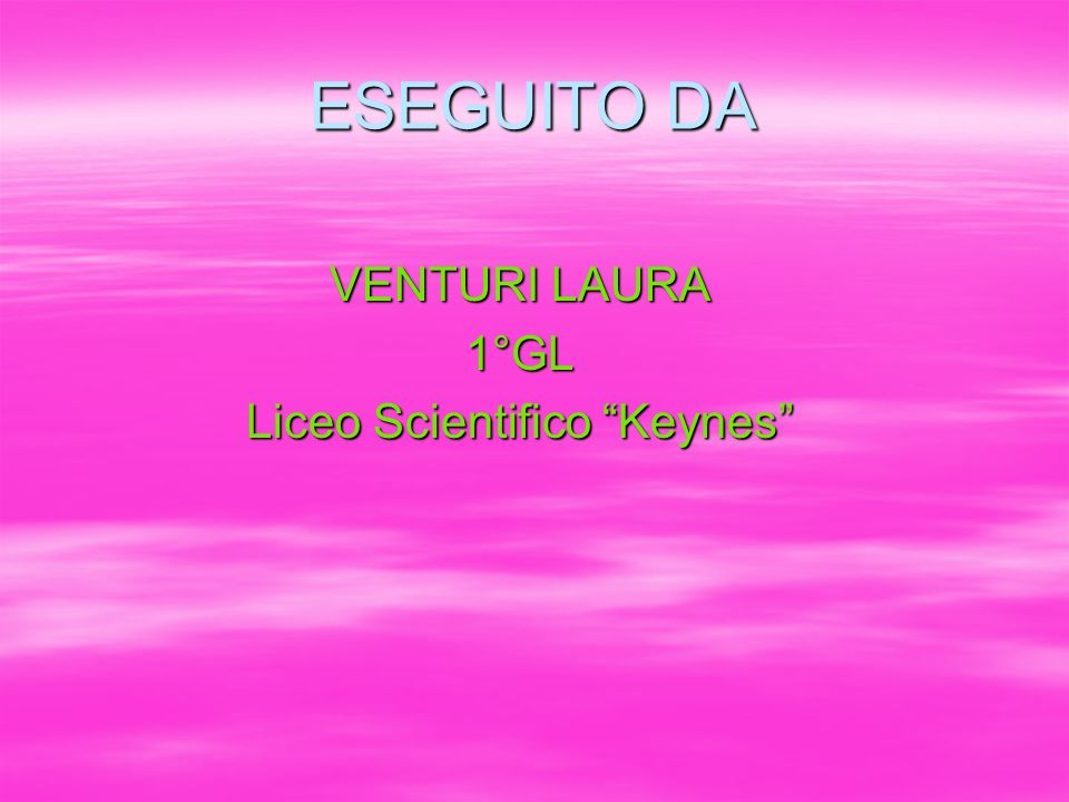 Liceo Scientifico Keynes