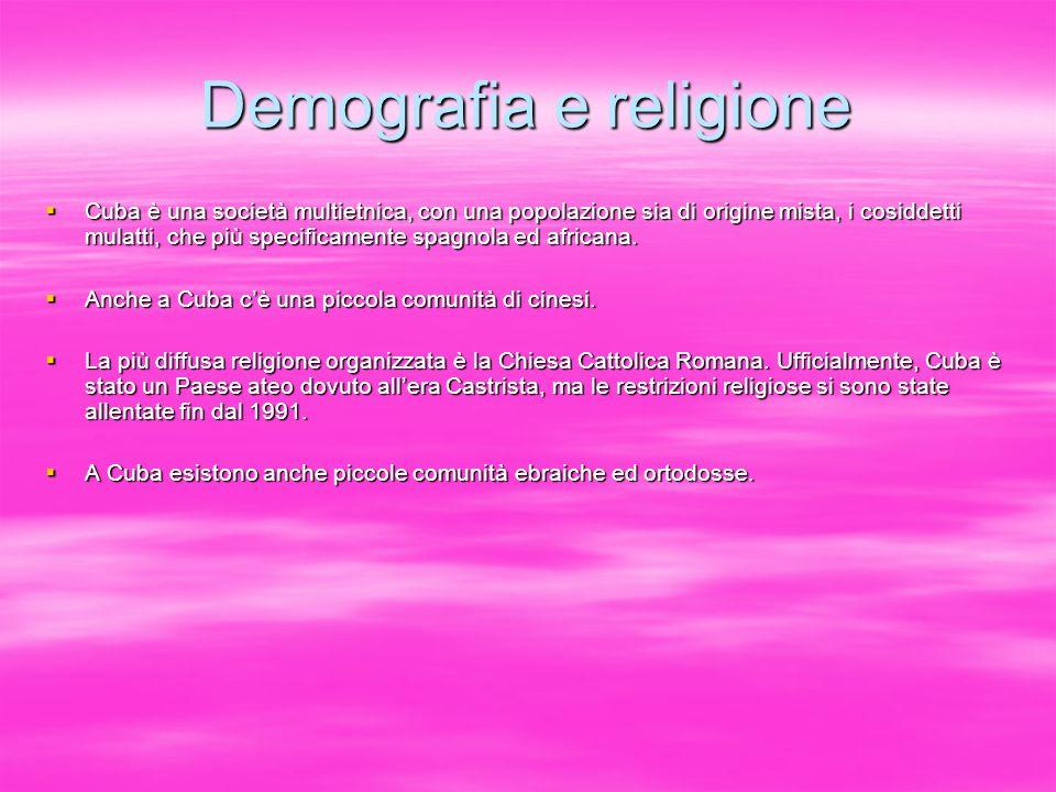 Demografia e religione