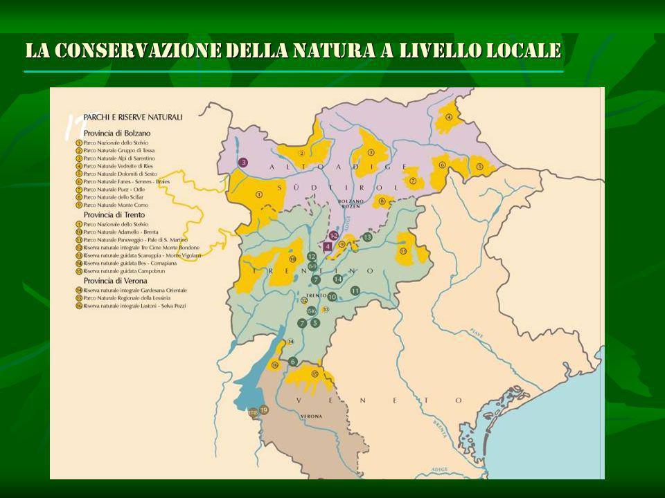La conservazione della natura a livello locale