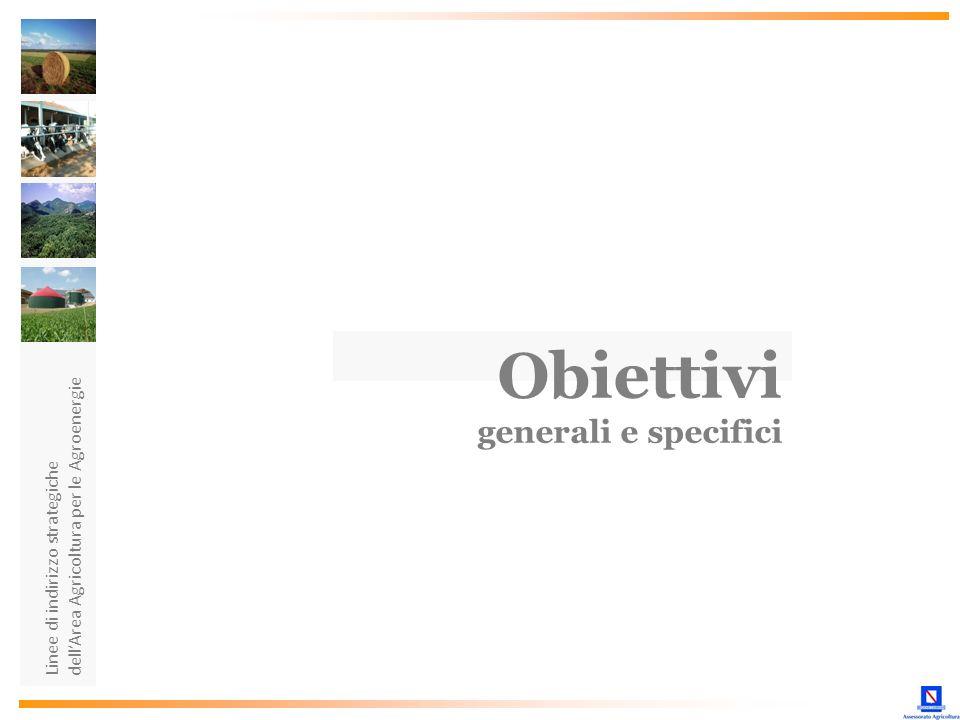 Obiettivi generali e specifici