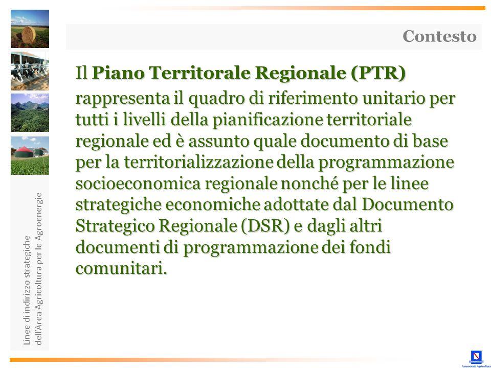Il Piano Territorale Regionale (PTR)