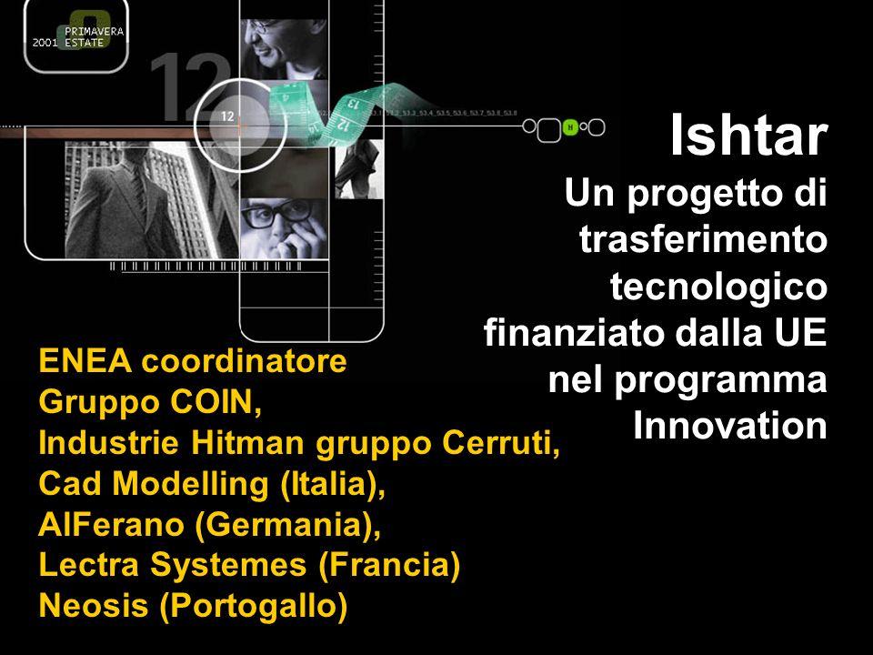 Ishtar Un progetto di trasferimento tecnologico finanziato dalla UE nel programma Innovation