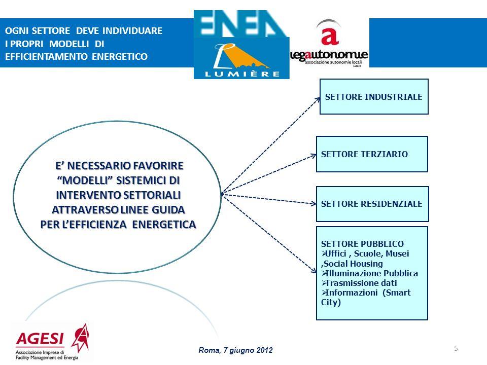ATTRAVERSO LINEE GUIDA PER L'EFFICIENZA ENERGETICA
