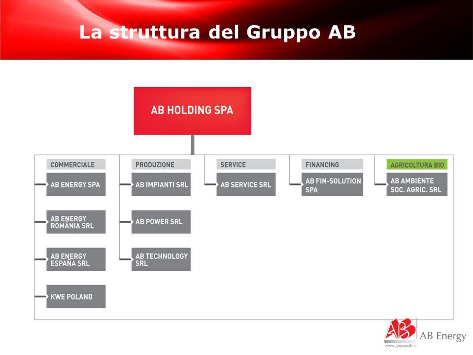 La struttura del Gruppo AB