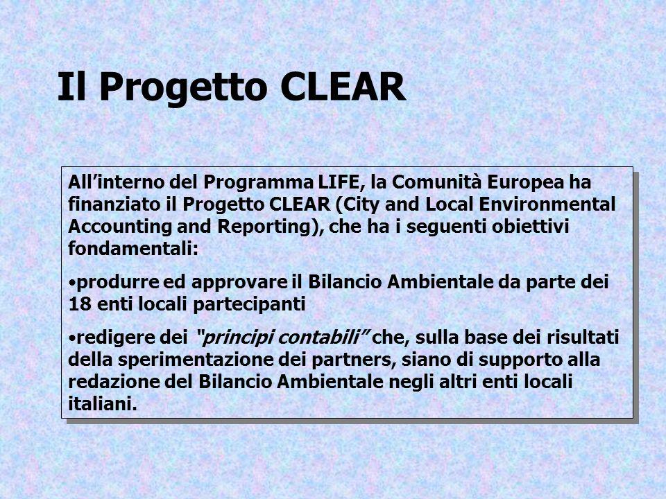 Il Progetto CLEAR