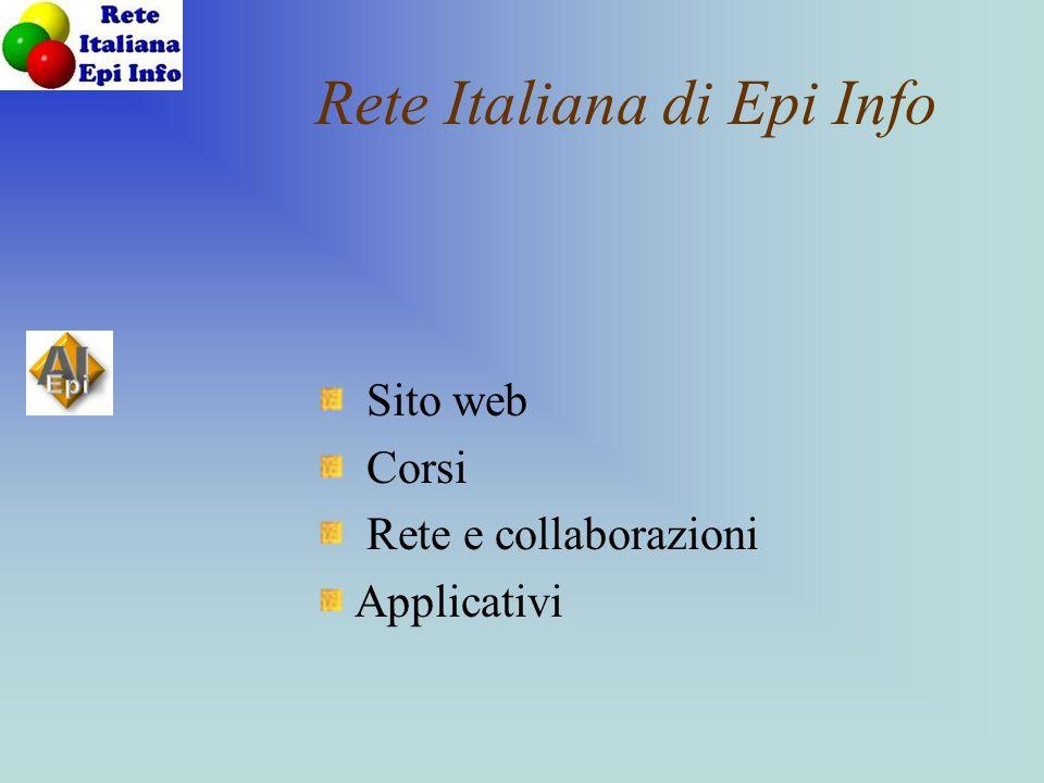 Rete Italiana di Epi Info