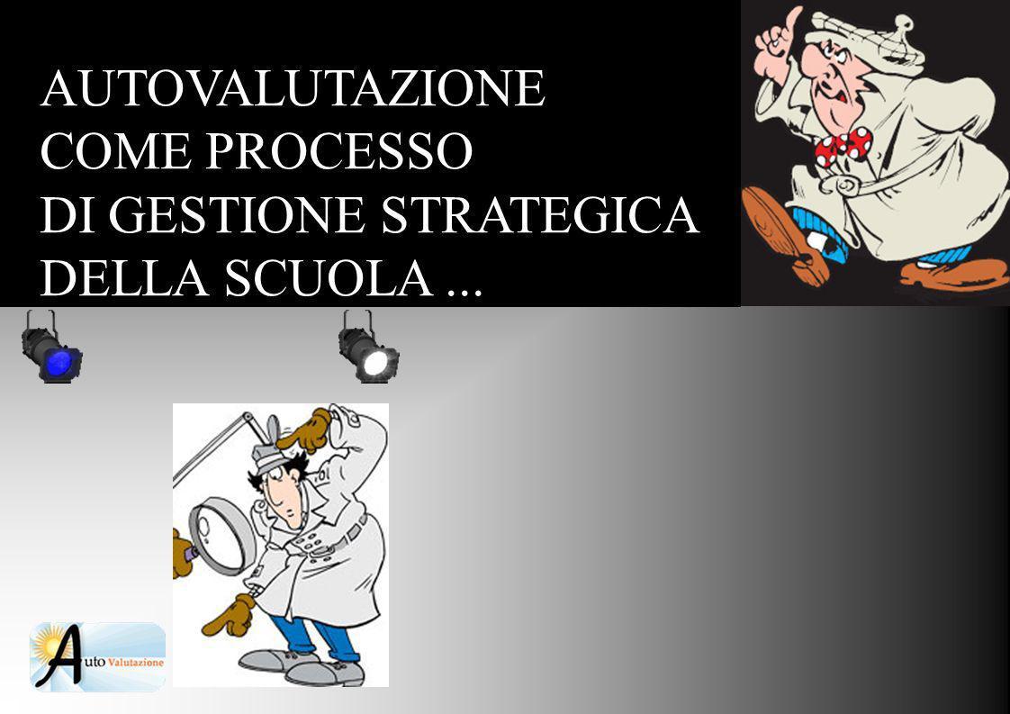 AUTOVALUTAZIONE COME PROCESSO DI GESTIONE STRATEGICA DELLA SCUOLA ...