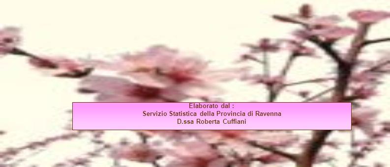 Servizio Statistica della Provincia di Ravenna