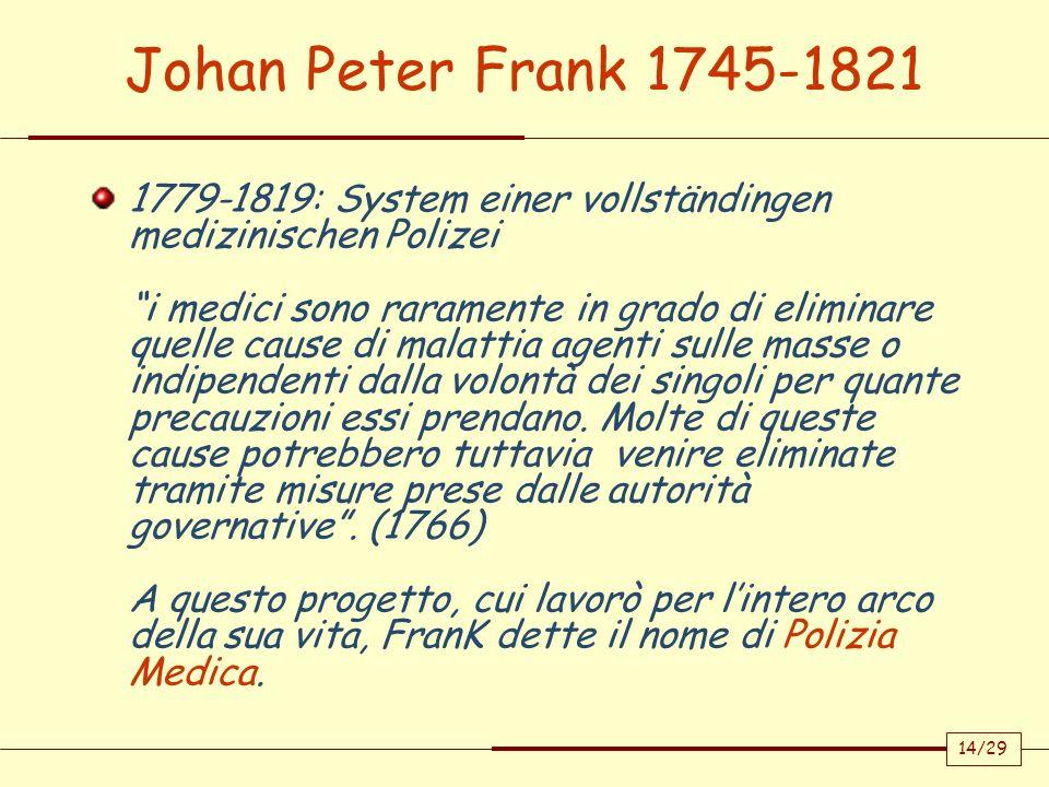 Johan Peter Frank 1745-1821