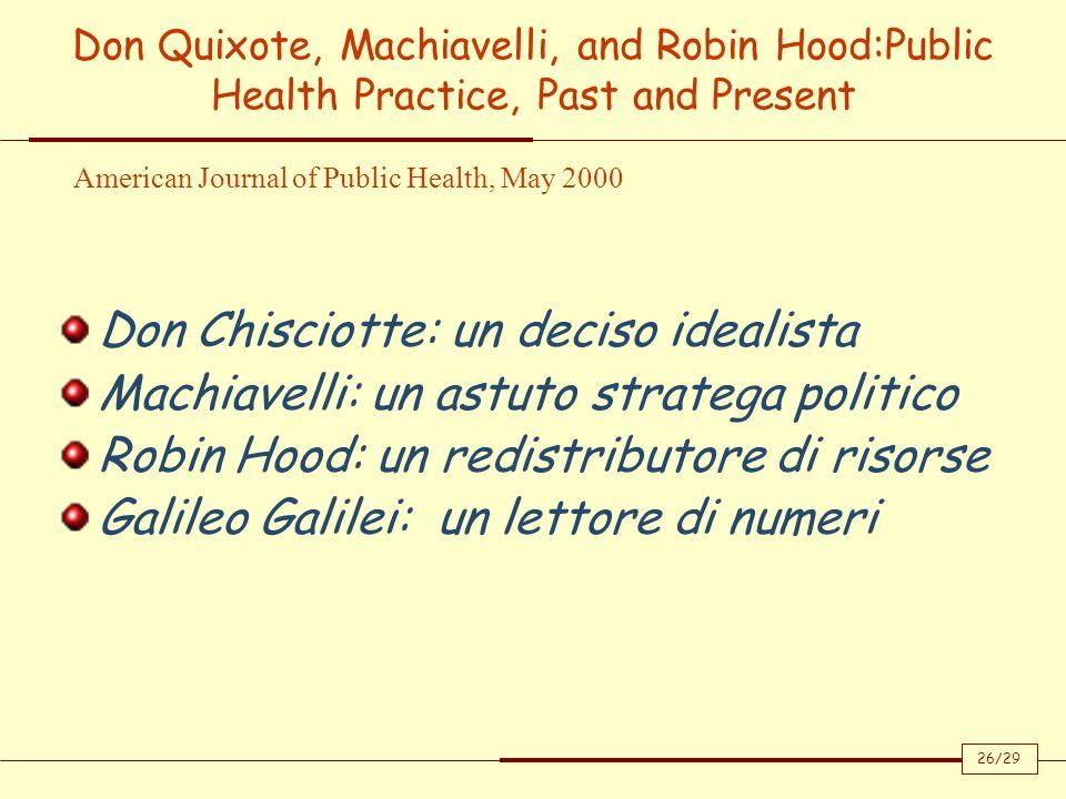 Don Chisciotte: un deciso idealista