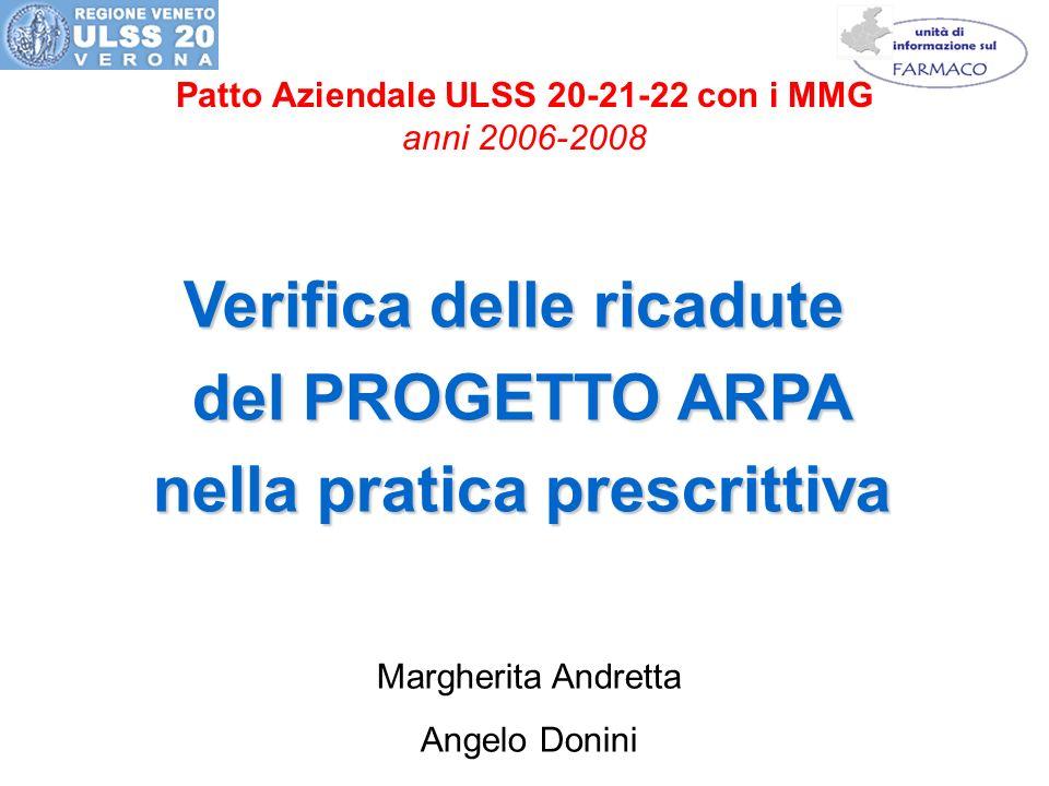 Verifica delle ricadute nella pratica prescrittiva