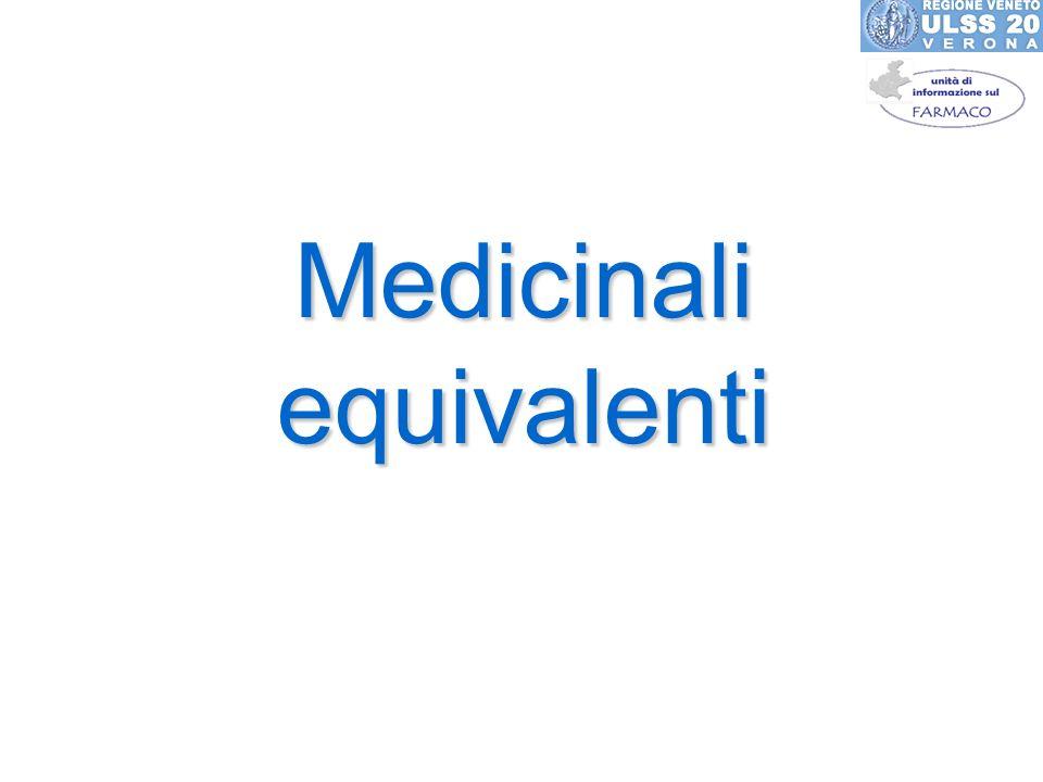 Medicinali equivalenti