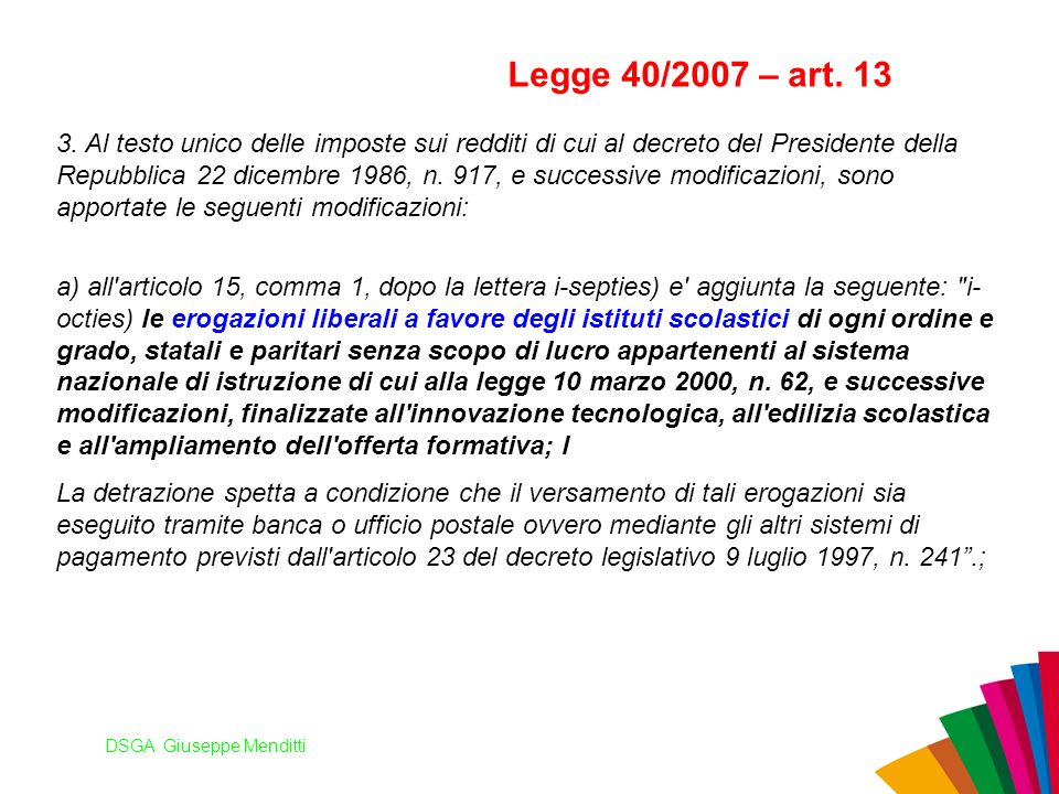 DSGA Giuseppe Menditti