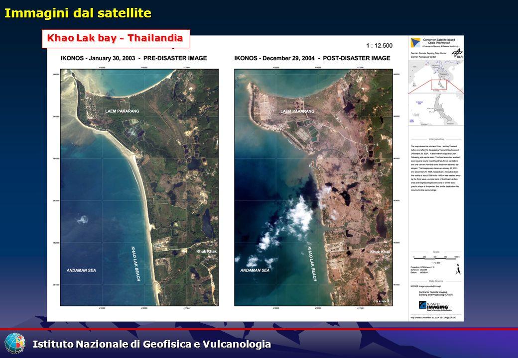 Immagini dal satellite