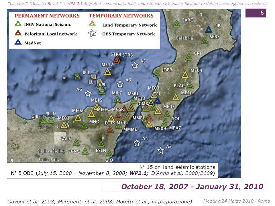 Test site 2 Messina Strait | WP2