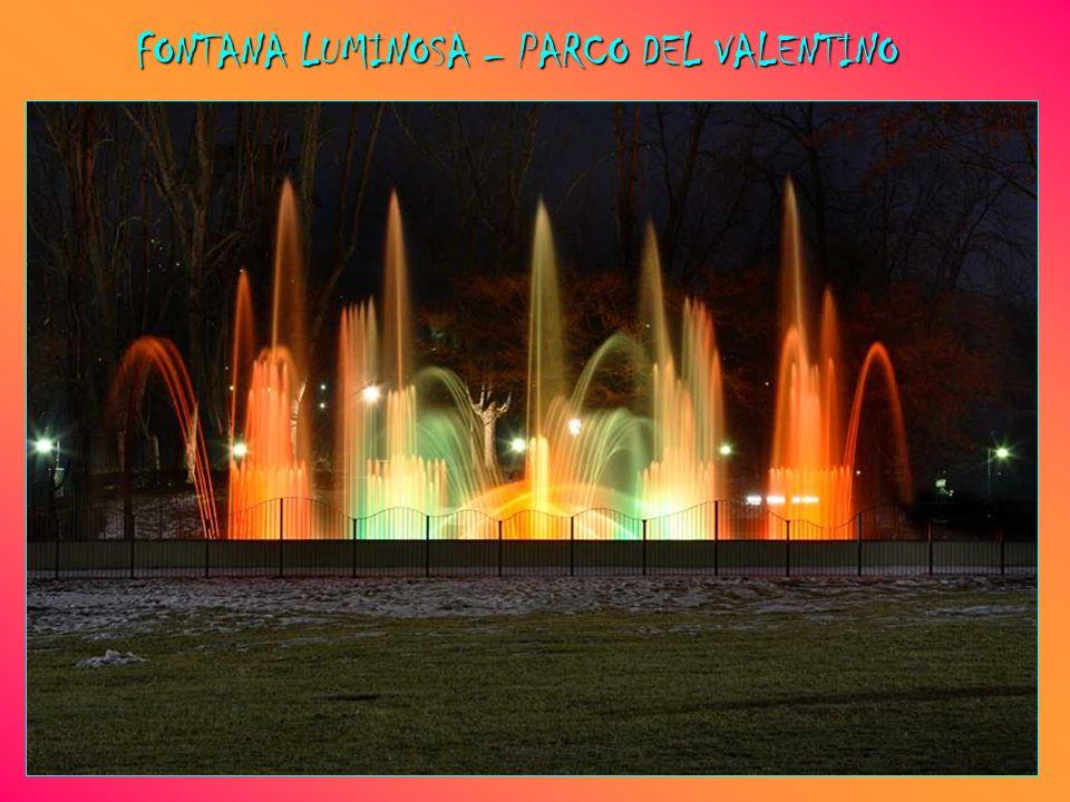 FONTANA LUMINOSA – PARCO DEL VALENTINO