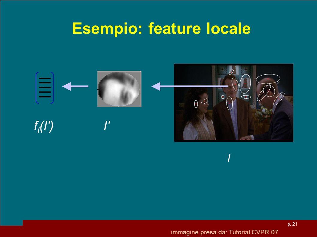 Esempio: feature locale