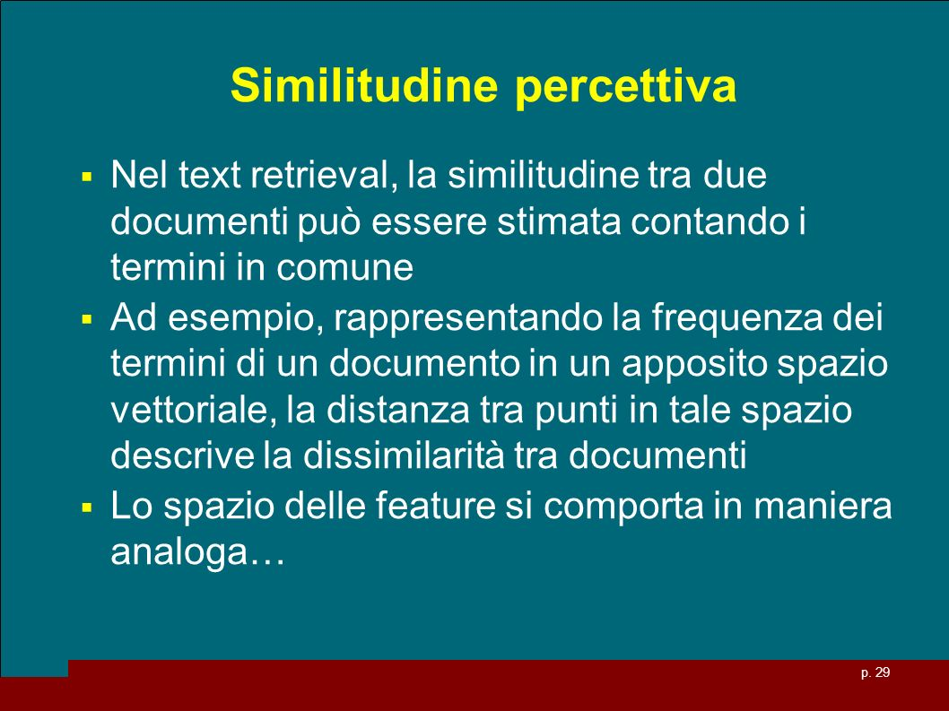 Similitudine percettiva