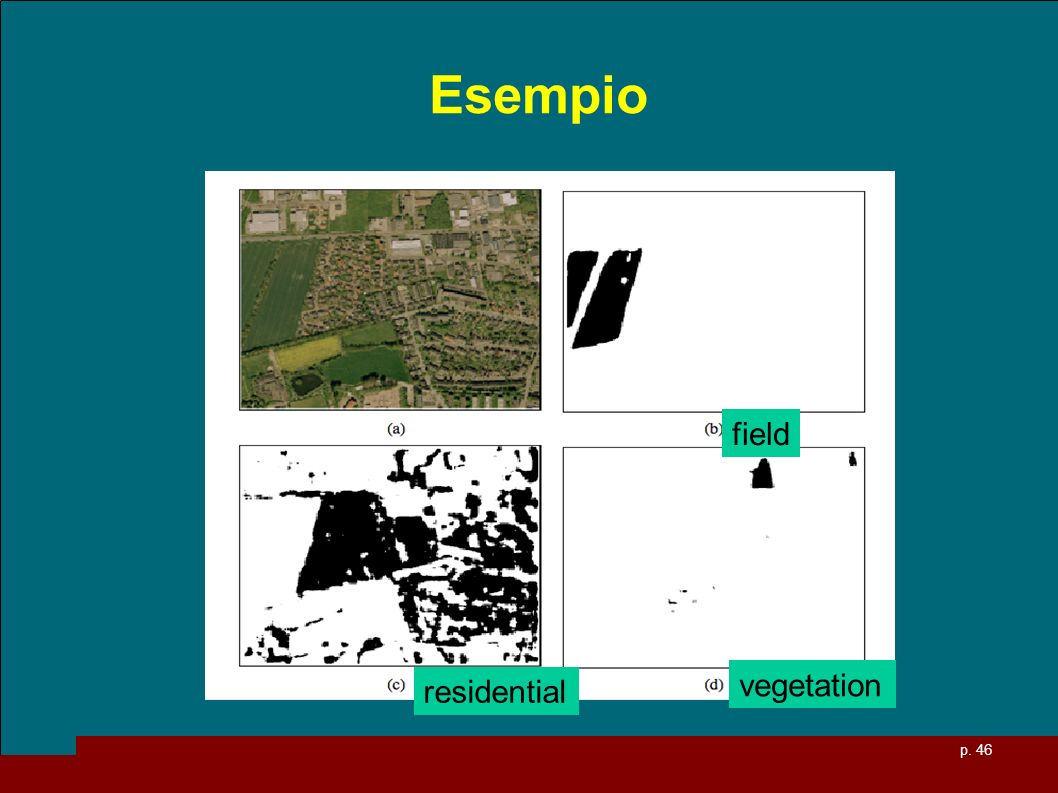 Esempio field residential vegetation