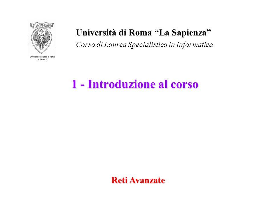 1 - Introduzione al corso