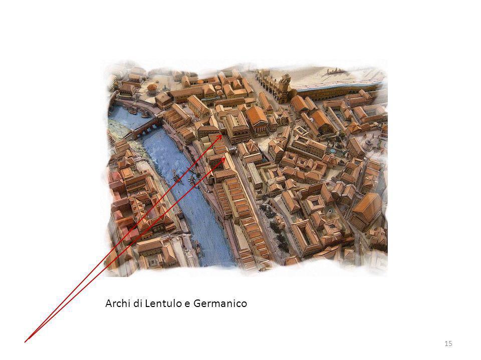 Archi di Lentulo e Germanico