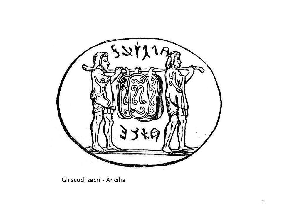 Gli scudi sacri - Ancilia