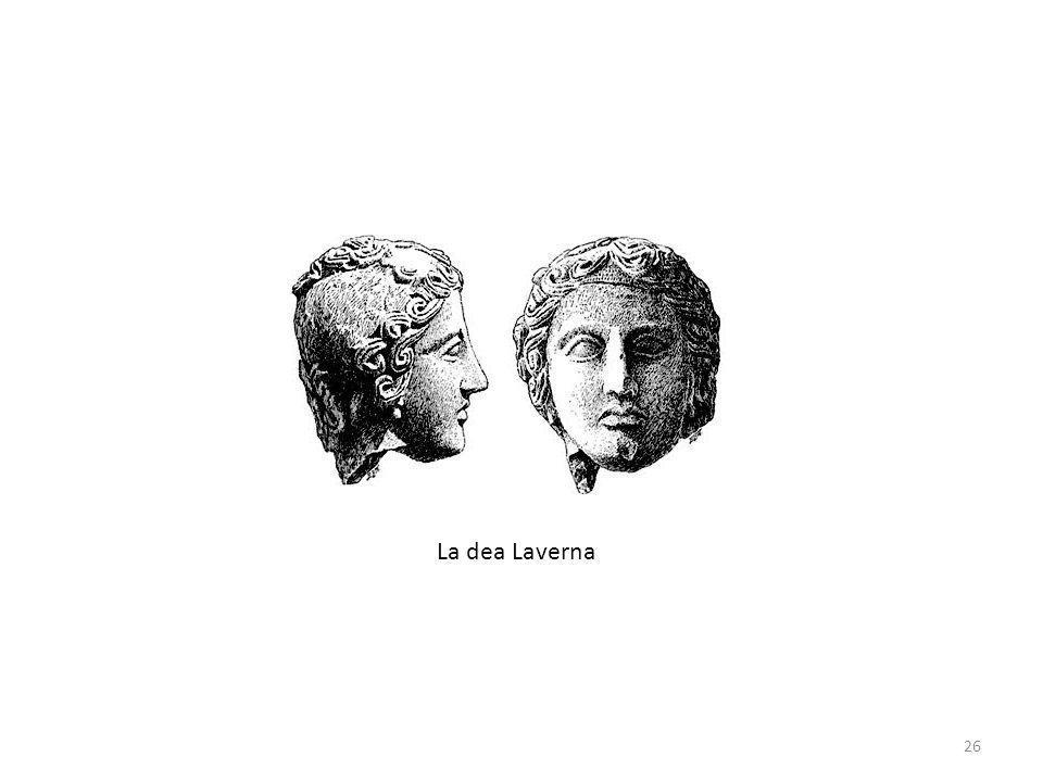 La dea Laverna