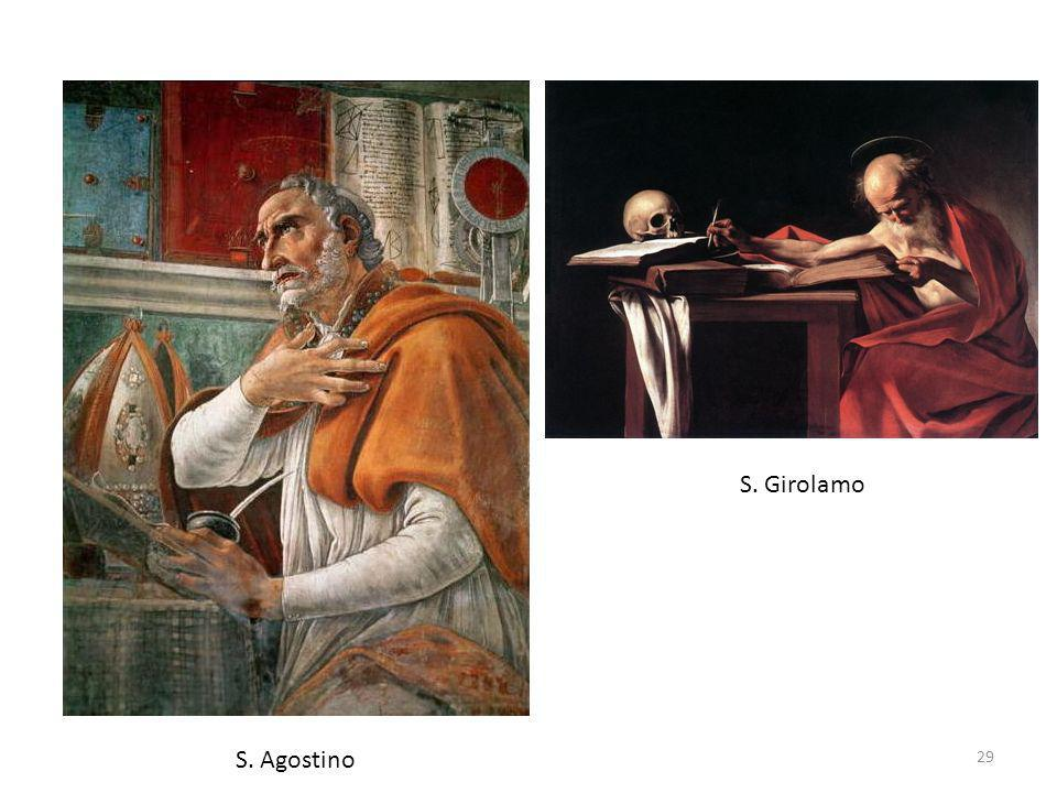 S. Girolamo S. Agostino