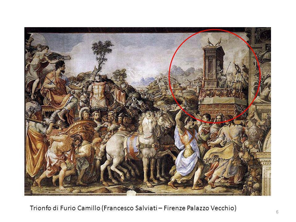Trionfo di Furio Camillo (Francesco Salviati – Firenze Palazzo Vecchio)