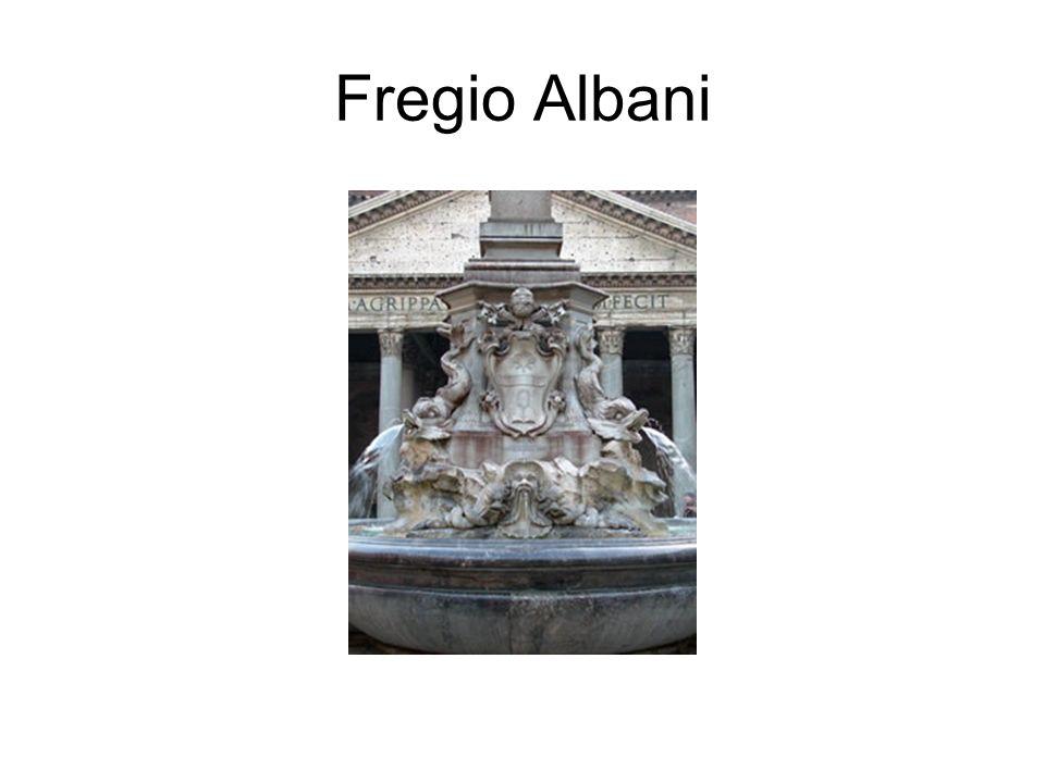 Fregio Albani