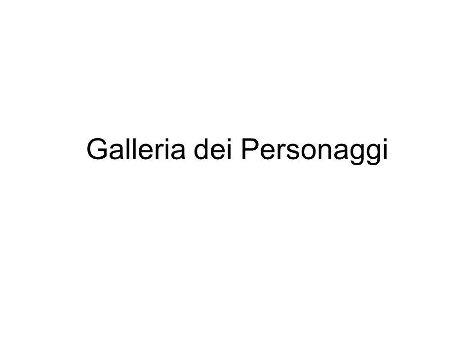Galleria dei Personaggi