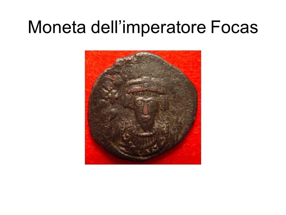 Moneta dell'imperatore Focas