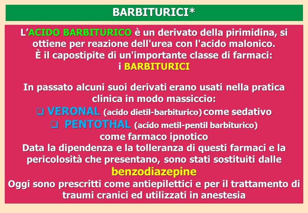 VERONAL (acido dietil-barbiturico) come sedativo